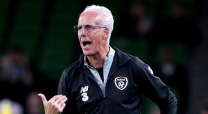 Republic of Ireland manager Mick McCarthy will send his team into Euro 2020 qualifying battle in Switzerland (Niall Carson/PA)