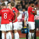 Gareth Southgate's side were subjected to racial abuse in Bulgaria (Nick Potts/PA)