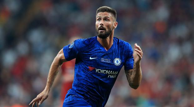 France coach Didier Deschamps said Olivier Giroud's lack of pitch time with Chelsea is impacting on his international selection (Adam Davy/PA)
