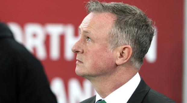 Michael O'Neill wants his side to take confidence from Monday's win as they look to a possible play-off place (Brian Lawless/PA)