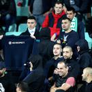 England players were subjected to racist abuse during their Euro 2020 qualifier in Bulgaria (Nick Potts/PA).