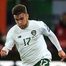 Republic of Ireland striker Aaron Connolly was handed a first senior start in Switzerland (Simon Cooper/PA)