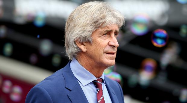 Manuel Pellegrini hopes to inflict more misery on Eveton (Nigel French/PA)