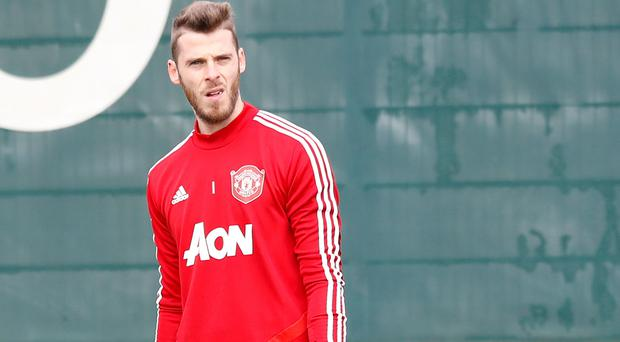 David De Gea is likely to miss the Liverpool clash (Martin Rickett/PA)