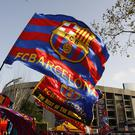 Barcelona and Real Madrid's first El Clasico of the season looks set to be moved to December (Nick Potts/PA)