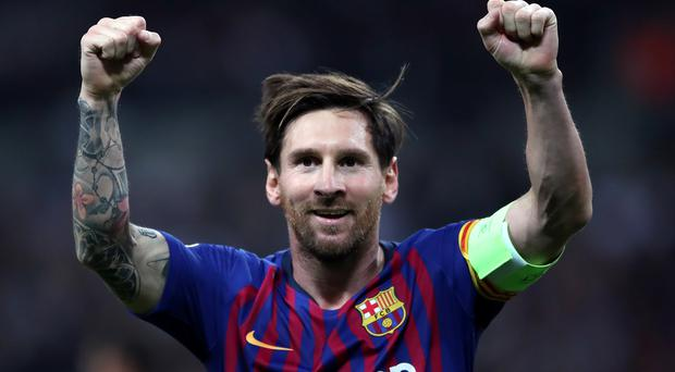 Lionel Messi will not be rushed by Barcelona boss Ernesto Valverde (Nick Potts/PA)