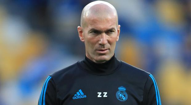 Real Madrid manager Zinedine Zidane criticised his side for their inconsistency after losing at Real Mallorca (Mike Egerton/PA)