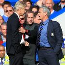 Jose Mourinho (right) was just one of the managers who feuded with Arsene Wenger during his time in charge of Arsenal (Nick Potts/PA)