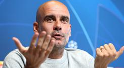 Pep Guardiola wants Manchester City to prove they have a Champions League-winning mentality (Martin Rickett/PA)