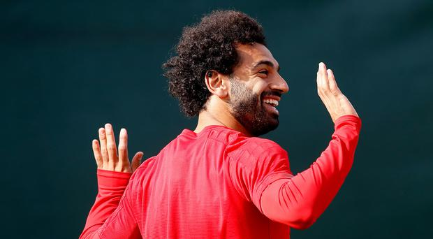 Mohamed Salah is in contention to return for Liverpool against Genk (Martin Rickett/PA)