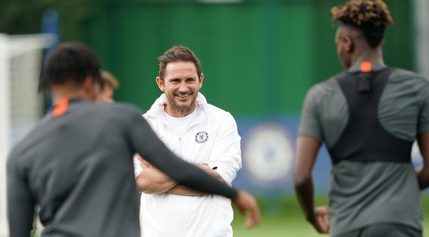 Frank Lampard has put his faith in youth this season (Tess Derry/PA)
