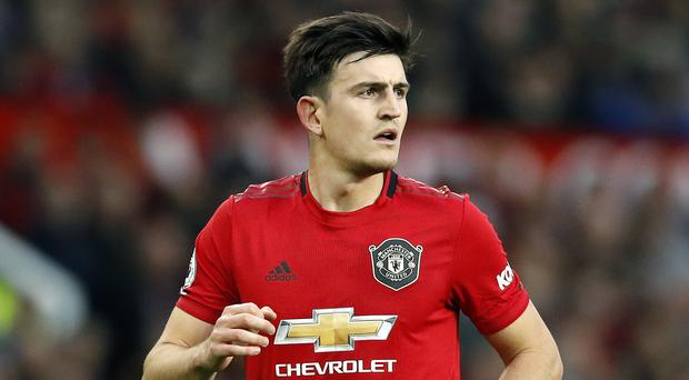 Harry Maguire is hopeful there will be no need for UEFA's three-step protocol for racism against Partizan Belgrade (Martin Rickett/PA)
