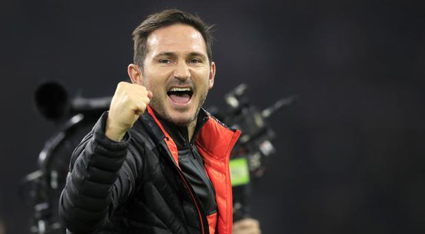 Frank Lampard was delighted with every aspect of Chelsea's performance (Peter Dejong/AP)