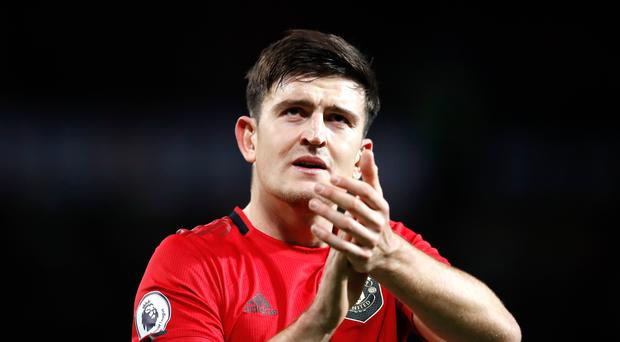 Manchester United's Harry Maguire played in England's 6-0 win over Bulgaria (Martin Rickett/PA)