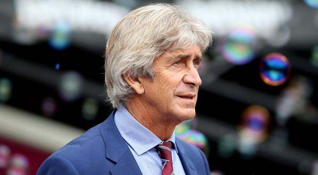 Manuel Pellegrini wants his side fully focused for the visit of Sheffield United. (Nigel French/PA)