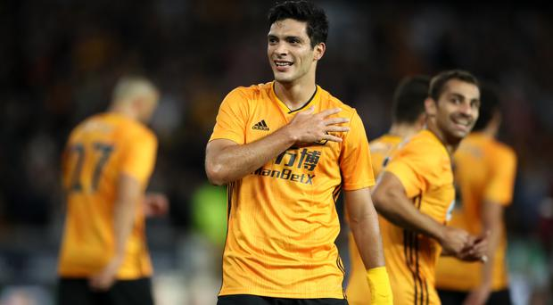 Raul Jimenez scored his second penalty in two games to earn Wolves victory (Nick Potts/PA)