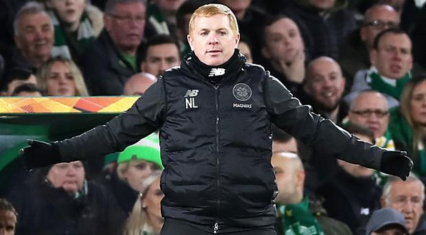 Neil Lennon was delighted with Celtic's win (Steve Welsh/PA)