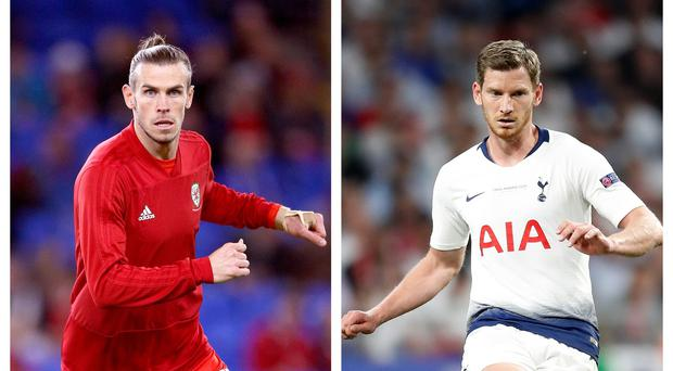Could Gareth Bale and Jan Vertonghen be on the move? (Nigel French/Martin Rickett/PA)