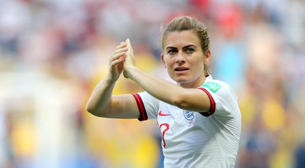 """Former England international Karen Carney believes a sold out Wembley would be an """"iconic"""" moment for the women's game (Richard Sellers/PA)"""