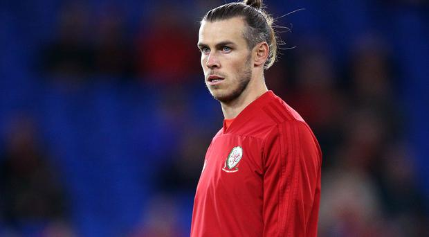 Gareth Bale has been named in the Wales squad for the crunch Euro 2020 qualifiers against Azerbaijan and Hungary despite a calf problem (Nigel French/PA)