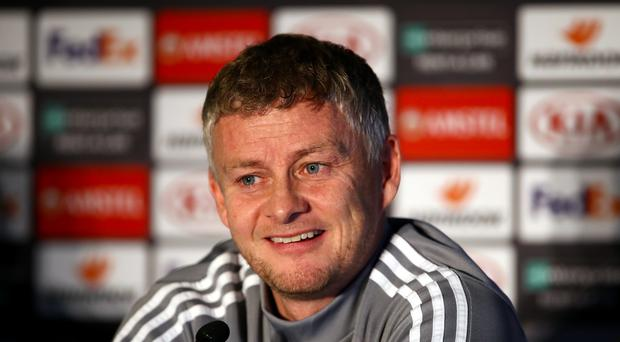 Ole Gunnar Solskjaer wants his players to find their scoring form in Europe (Tim Goode/PA)
