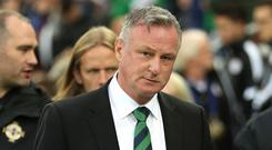 Michael O'Neill has been appointed Stoke boss (Liam McBurney/PA)