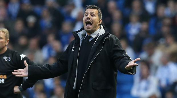 Former Brighton boss Oscar Garcia takes charge of his first Celta game at the weekend (Gareth Fuller/PA)
