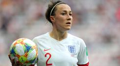 Lucy Bronze says England Women need to perform for 90 minutes (John Walton/PA)