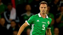 Northern Ireland's Jonny Evans has wished outgoing manager Michael O'Neill well (Liam McBurney/PA)