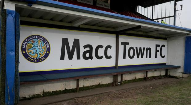 Macclesfield Town's senior players have been on strike. (Richard Sellers/PA)