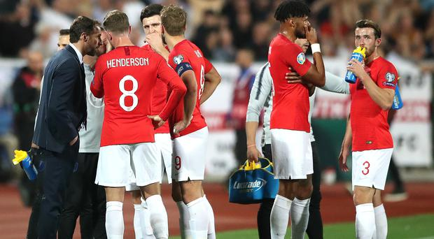 England received sickening abuse when they were in Sofia (Nick Potts/PA)