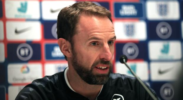 England manager Gareth Southgate said his side were focused on Thursday's match (Simon Cooper/PA).