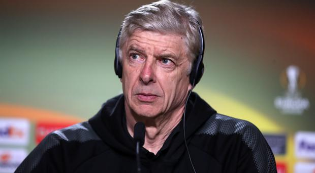 Arsene Wenger has taken up a new role at FIFA (Adam Davy/PA)