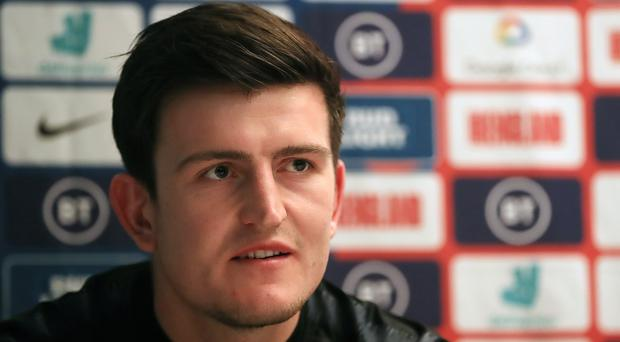 Harry Maguire insists there are no cliques in the England squad (Simon Cooper/PA)