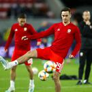 Tom Lawrence will miss Wales' international (Tim Goode/PA)