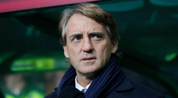 Italy manager Roberto Mancini could hand debuts to three players in the last two Euro 2020 qualifying games (Richard Sellers/PA)