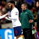 Joe Gomez was booed by some England fans when he came on against Montenegro (Nick Potts/PA)