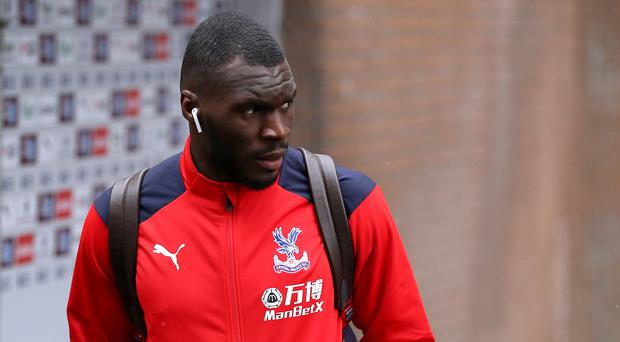 Christian Benteke has been banned from driving (Nigel French/PA)