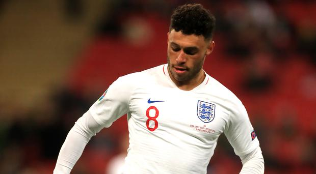 Alex Oxlade-Chamberlain is enjoying a new lease of life with England (Mike Egerton/PA)