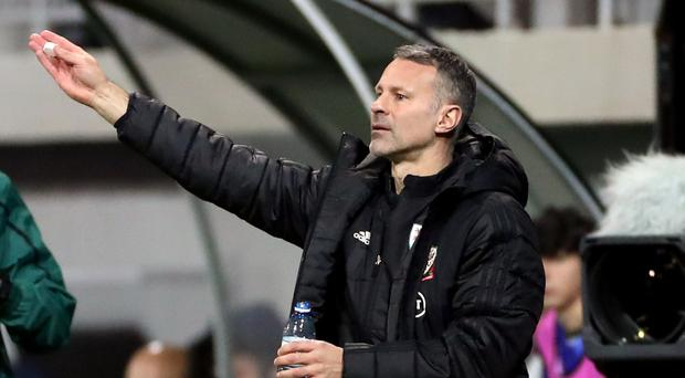 Wales manager Ryan Giggs was delighted with his side's 2-0 win in Azerbaijan (Bradley Collyer/PA)