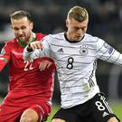 Toni Kroos scored twice for Germany (Martin Meissner/PA)