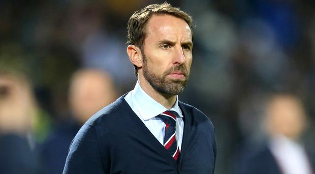 England manager Gareth Southgate was pleased with his side's performance in testing conditions against Kosovo (Steven Paston/PA)