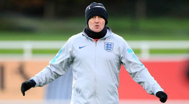 Aidy Boothroyd has reflected on 2019 with England Under-21s (Mike Egerton/PA)