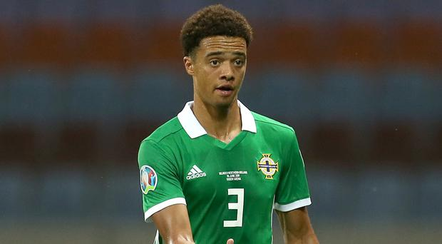 Jamal Lewis has withdrawn from the Northern Ireland squad with a knee injury (Steven Paston/PA)