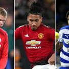 Erling Haaland Chris Smalling and Danny Loader are part of the latest transfer speculation(Nick Potts/Chris Radburn/Bradley Collyer/PA)