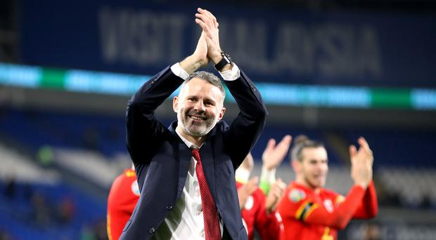 Ryan Giggs has guided Wales to Euro 2020 qualification (Nick Potts/PA)