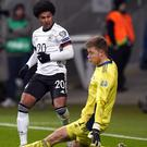 Serge Gnabry scored a hat-trick for Germany against Northern Ireland (John Walton/PA)