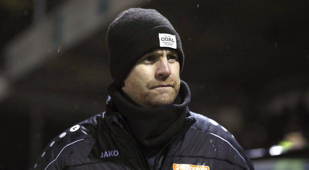Harrogate Town manager Simon Weaver saw his side win (Martin Rickett/PA)