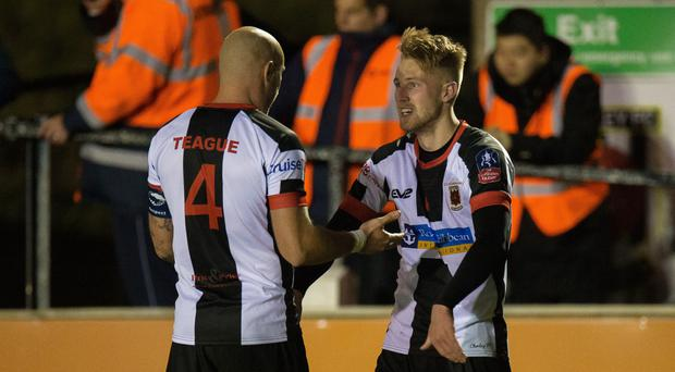 Chorley's Marcus Carver (right) (Peter Powell/PA)