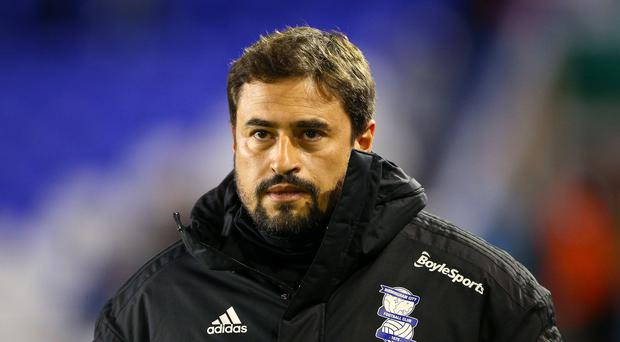 Pep Clotet has been appointed Birmingham head coach on a permanent basis (Nigel French/PA)